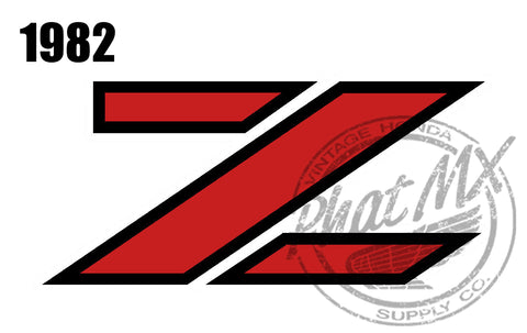 Z50R 79-87 Side Decals