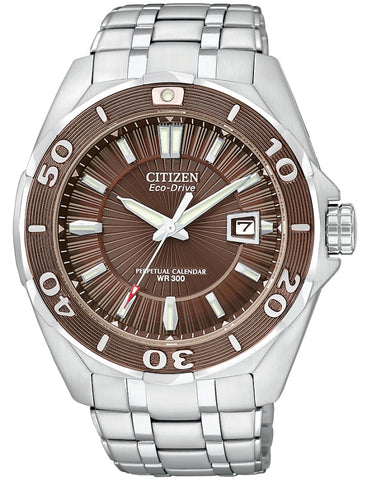 Citizen Signature Eco-Drive Perpetual Calendar Watch BL1259-51X