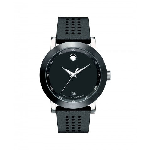 Movado Museum Sport Rubber Watch 0606507