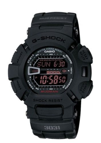 Casio G-Force Military Concept Black Digital Watch G9000MS-1CR