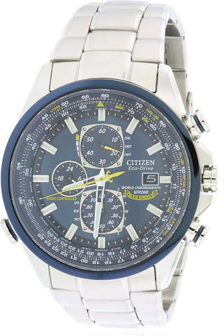 Citizen Eco-Drive Blue Angels Chronograph Atomic Watch AT8020-54L