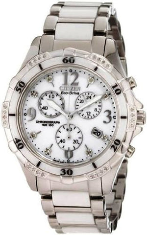 Citizen Eco-Drive Ceramic Chronograph Watch FB1230-50A