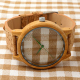 BOBO BIRD A28 Wooden Leather Band Watch