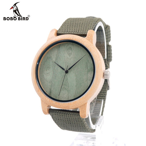 BOBO BIRD D12 Wooden Quartz Watch