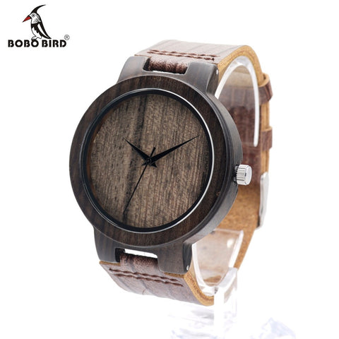 BOBO BIRD D23 Quartz Bamboo Wooden Watch