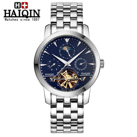 HAIQIN 9026 Sapphire Waterproof Tourbillon Automatic Mechanical Watch