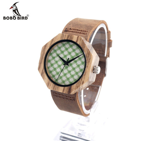 BOBO BIRD D01 Wooden Bamboo Watch