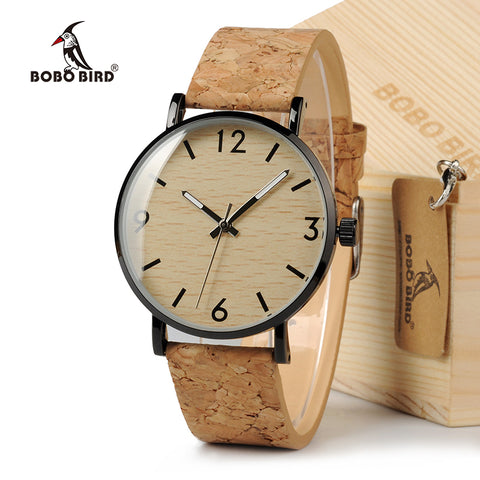 BOBO BIRD M001 Vintage Wooden Bamboo Watch