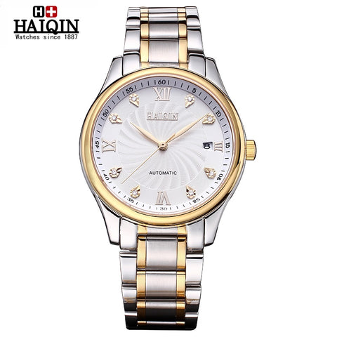 HAIQIN 9002D Luxury Automatic Mechanical Waterproof Watch