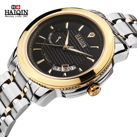 HAIQIN 9037 Luxury Luminous Automatic Mechanical Watch