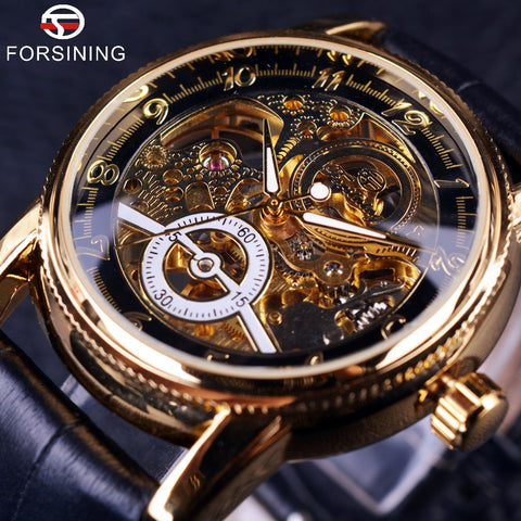Forsining FOR856 Hollow Skeleton Luxury Automatic Watch