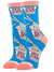 CUP A SOUP WOMENS CREW SOCKS