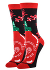 AWESOME SAUCE WOMENS CREW SOCKS