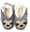 SLOTH STEPS WOMENS INDOOR SLIPPER  5-6