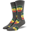 RASTA LION - GRAY HEATHER - 10-13