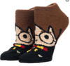 CHIBI HARRY FUZZY CHENILLE CHARACTER JUNIORS Ankle Sock