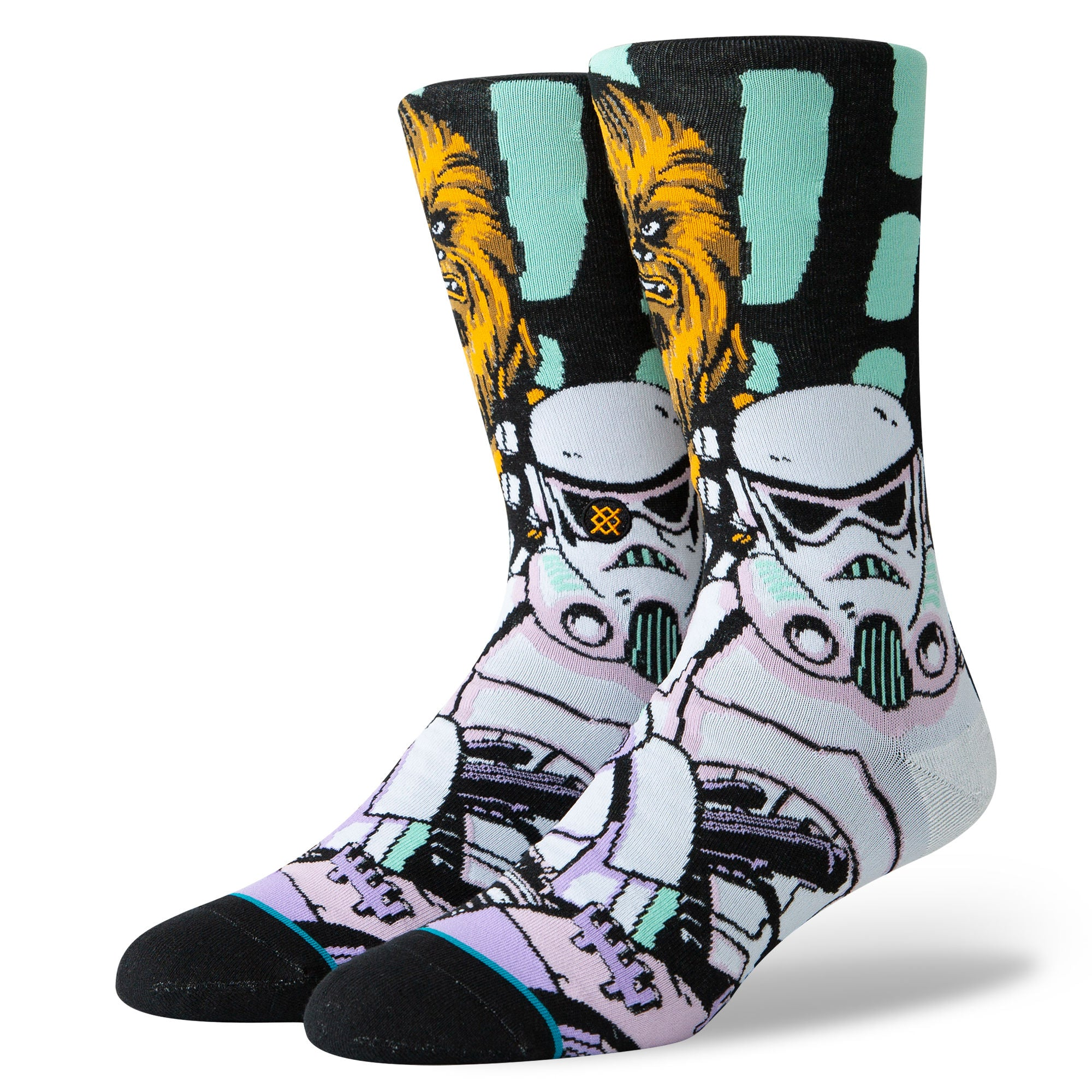 WARPED CHEWBACCA-BLK-L