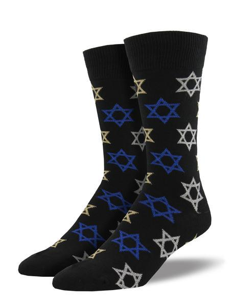 STAR OF DAVID - BLACK - 10-13