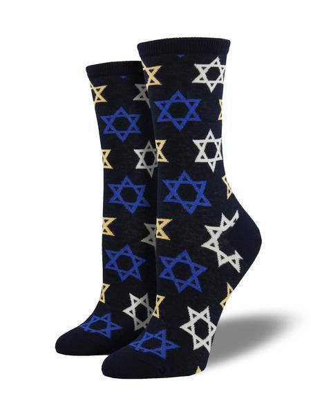 STAR OF DAVID - NAVY - 9-11