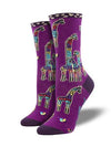 GIRAFFE FAMILY - PURPLE - 9-11