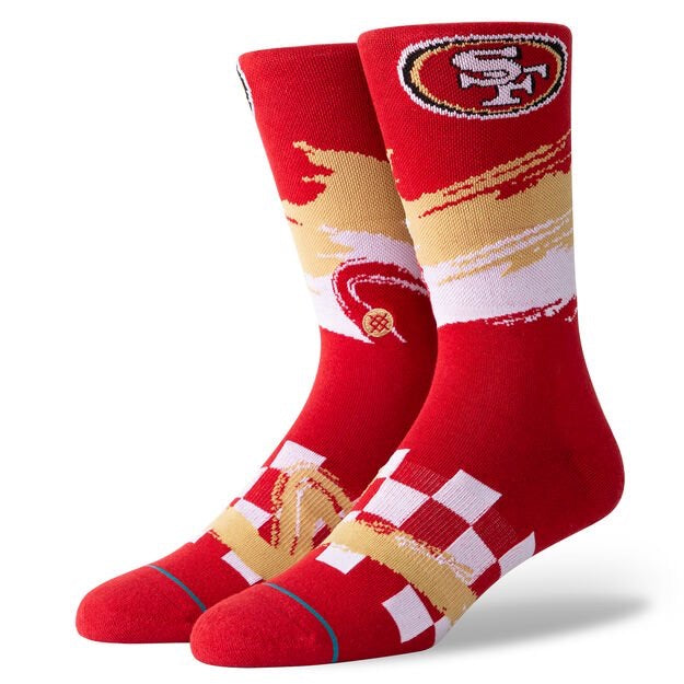 49ERS WAVE RACER - RED - L