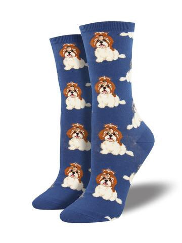 I SHIH TZU NOT - BLUE - 9-11
