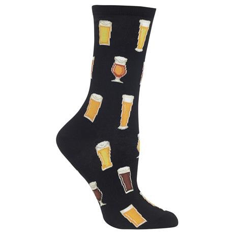 Women's Beer Crew Socks