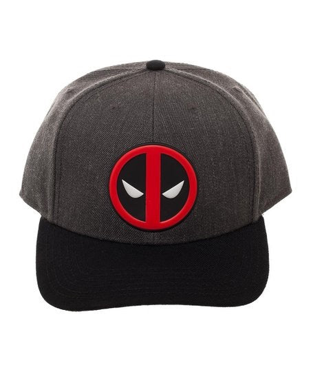 Deadpool Emblem Curved Snapback