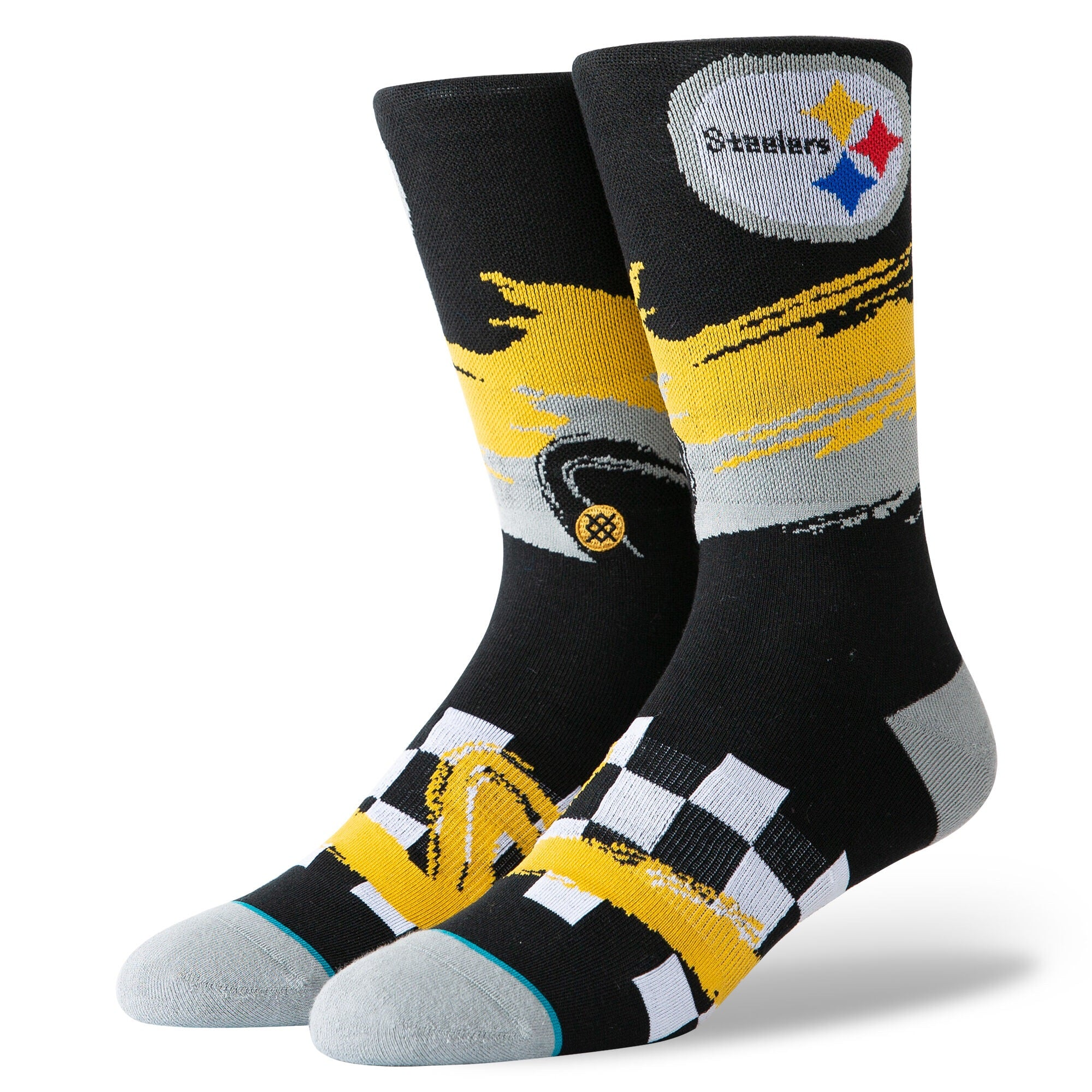 STEELERS WAVE RACER - BLK - L