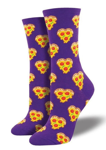 Love You To Pizzas (purple)