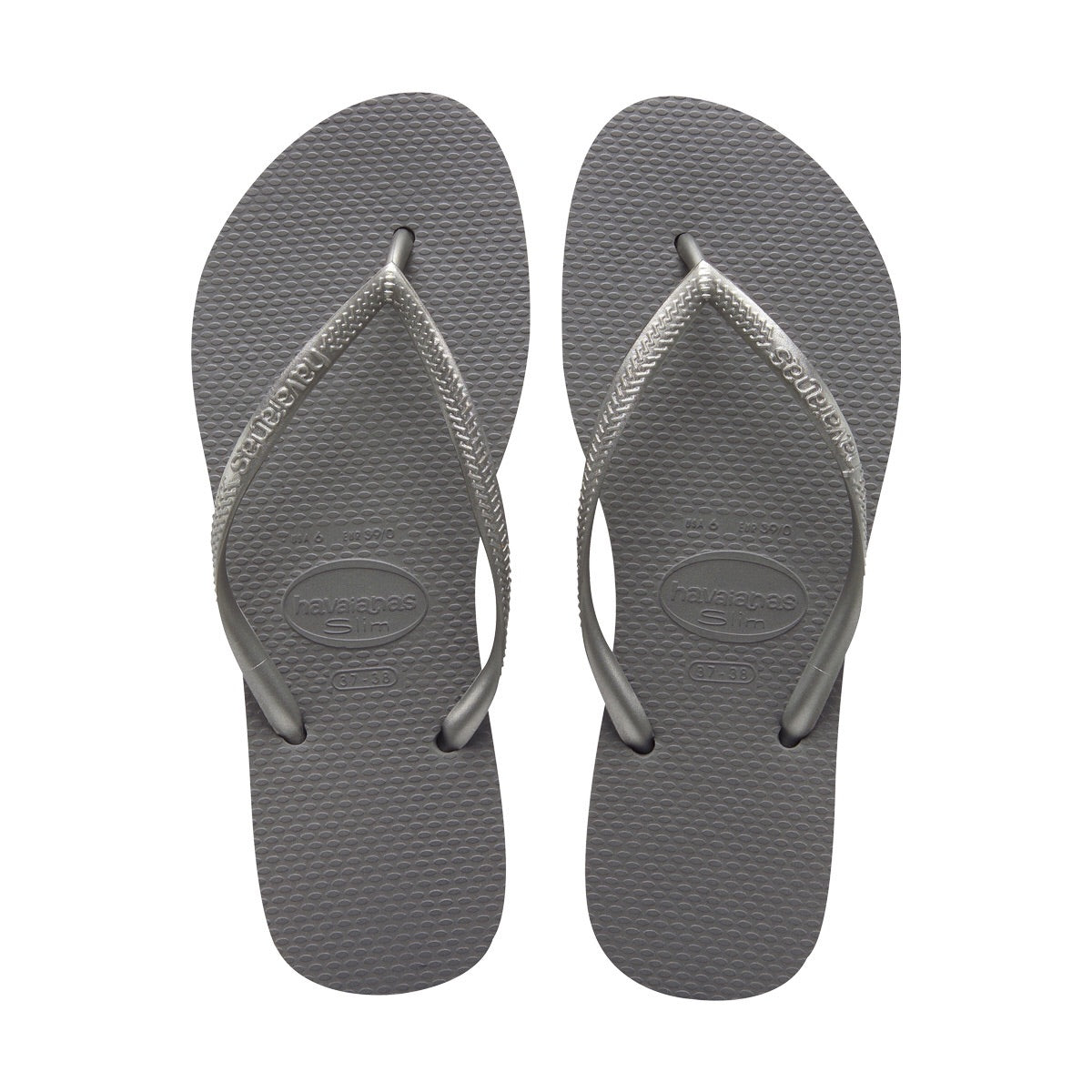 Slim Sandal Steel Grey 6w