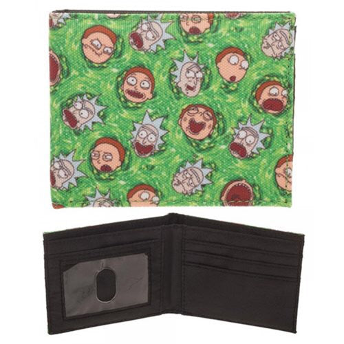 Rick and Morty quickturn wallet