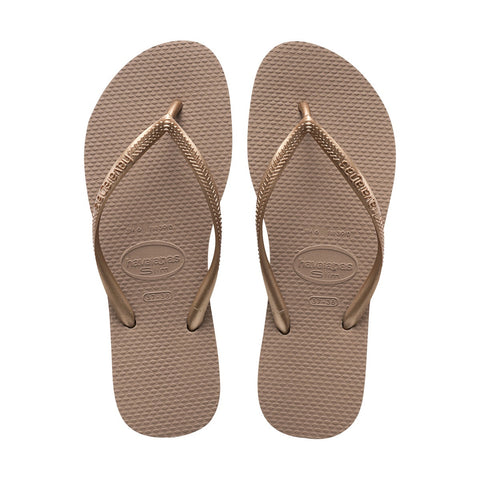 Slim Sandal Rose Gold (Size 7/8W)
