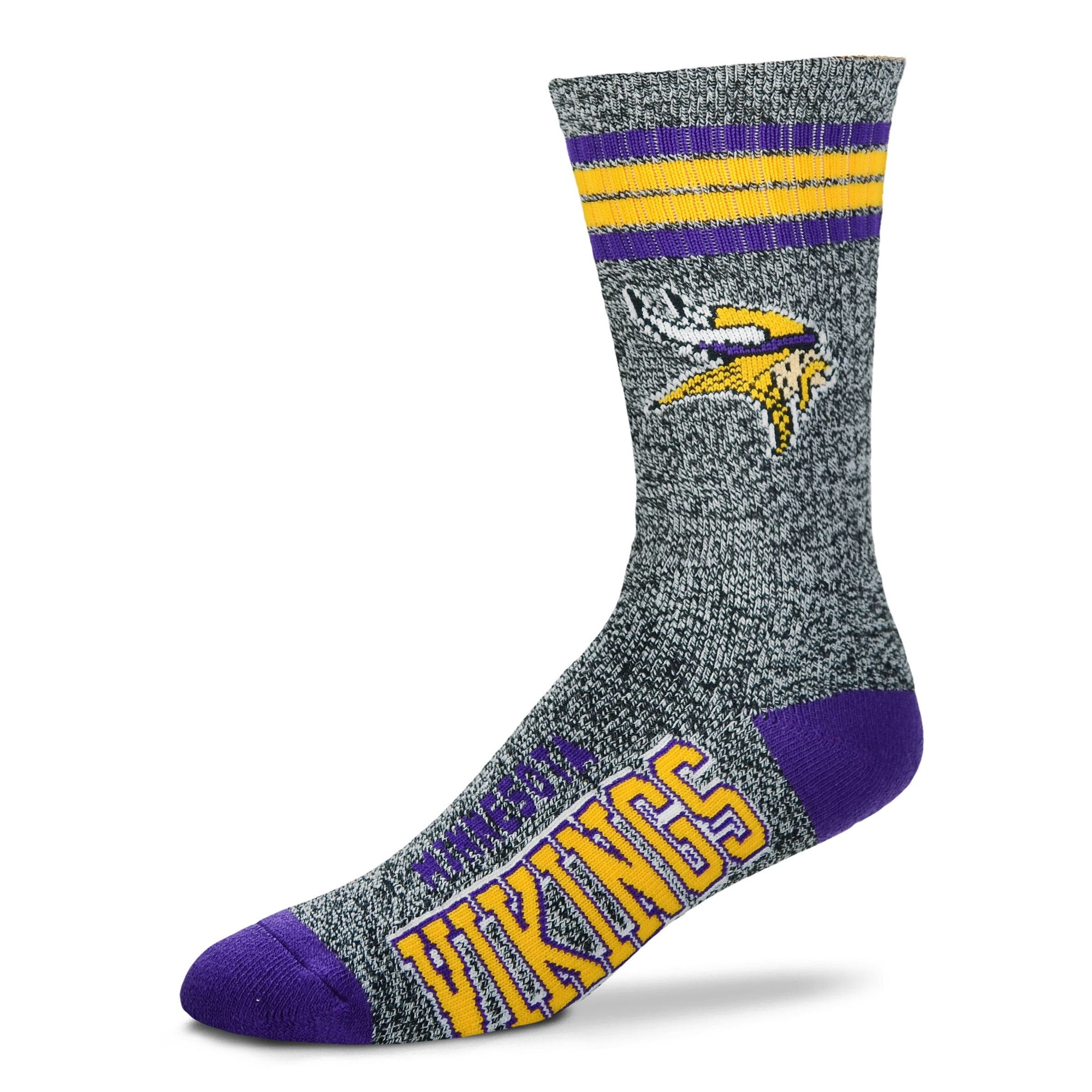 Minnesota Vikings - Marbled 4 Stripe Deuce