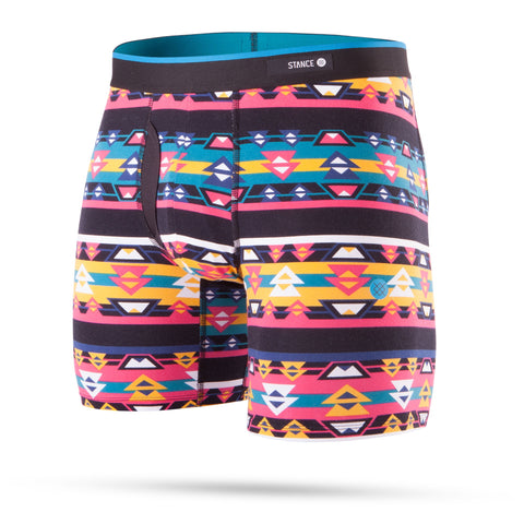SOUTHWESTERN BOXER BRIEF - BLK (Large)