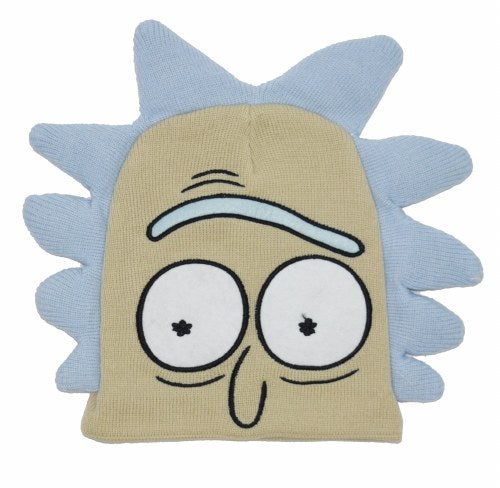 Rick & Morty Rick Face Embroidery Beanie