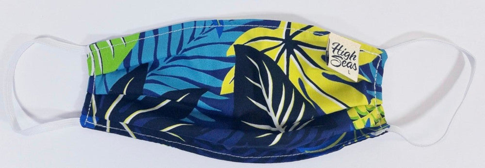 PPE Mask Palm Leaves Aloha - Medium