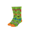Odd Sox - Kids 7-10 Crew - Turtle Boys
