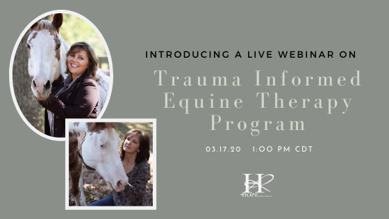 Healing Developmental Trauma with Horses Webinar