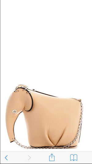 Princess Elephant Crossbody Bag (S-87183)