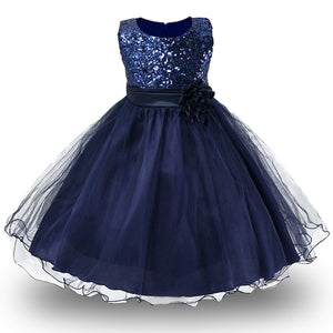3-14yrs Girls Dress with blink top