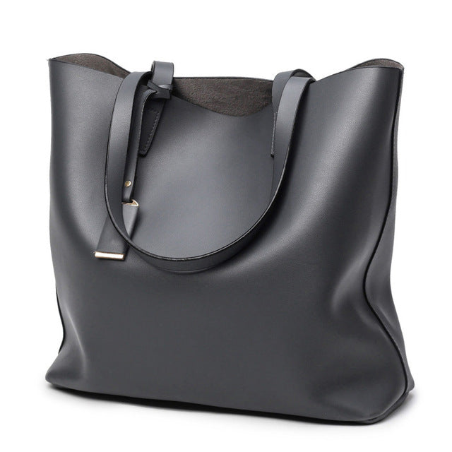 Shoulder High Quality PU Totes