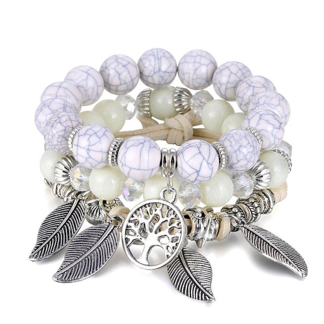 Classic Tree of Life Bracelet Set For Women