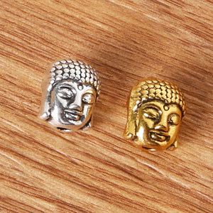 9x10mm 10pcs/lot Buddha Head bracelet Charms