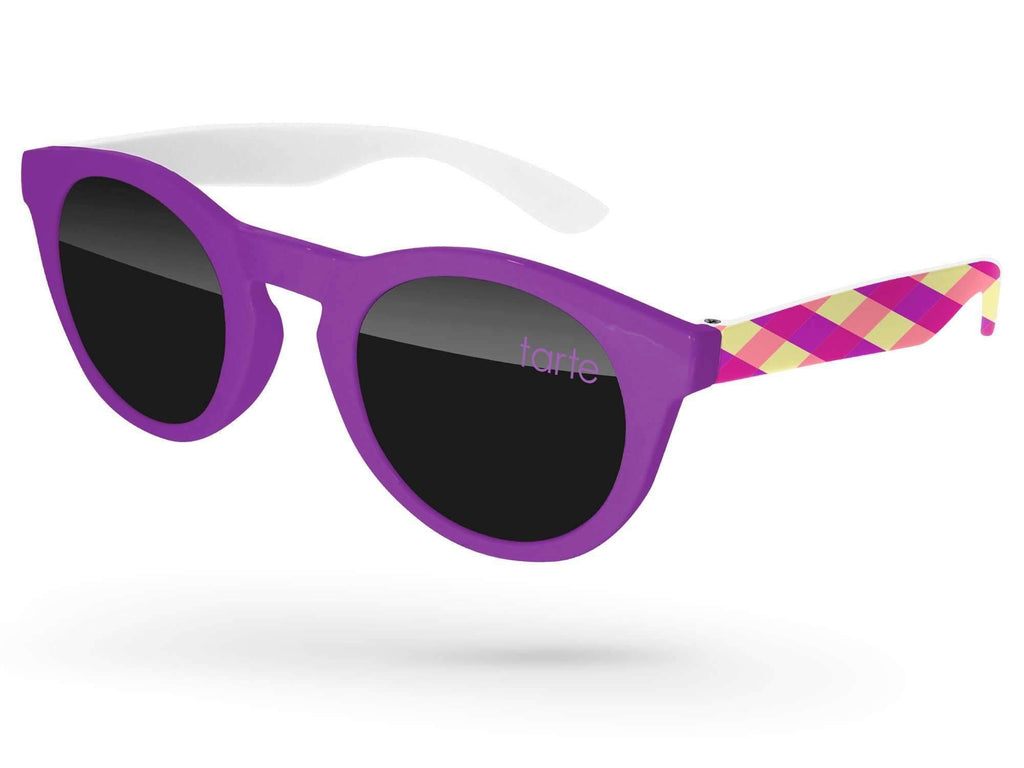 2-tone Andy Promotional Sunglasses w/ arms heat transfer