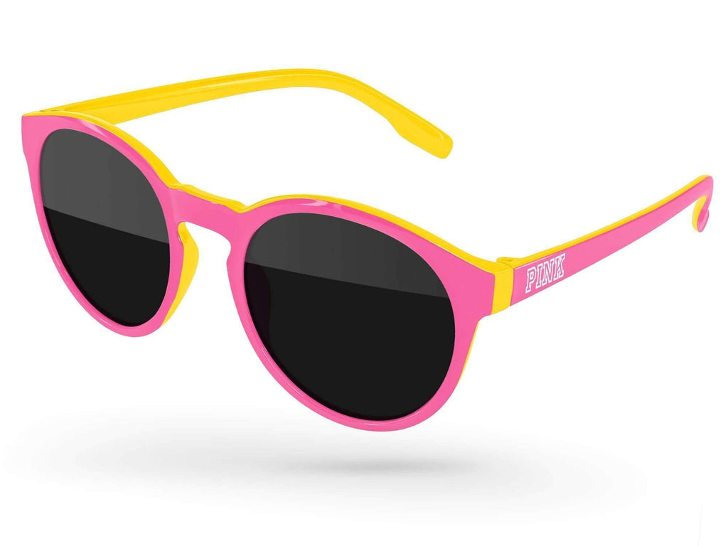 VD011 - 2-Tone Vicky Promotional Sunglasses w/ 1-color temple imprint