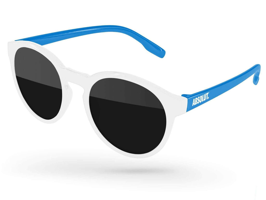 VD012 - 2-Tone Vicky Promotional Sunglasses w/ 1-color temple imprint