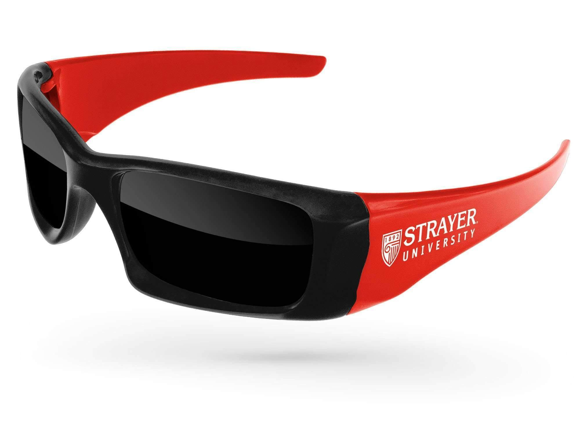 2-tone Wrap Promotional Sunglasses w/ 1-color temple imprint