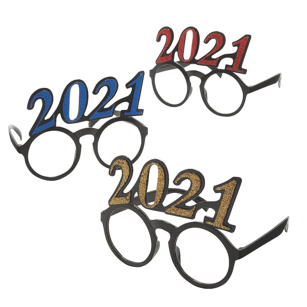 2021-RND Novelty 2021 Shaped Graduation Promotional Round Glasses
