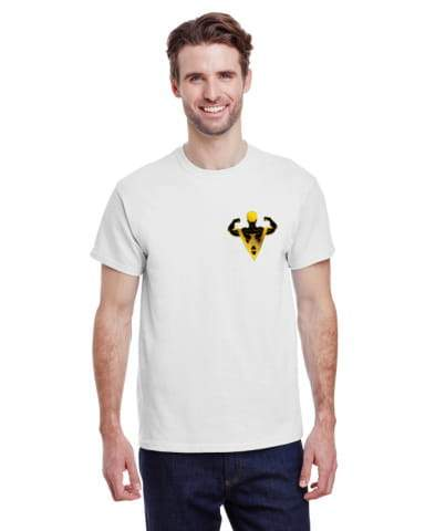 "3600-L04 - Full-Color On White/Very Light T-Shirt with DTG print (Up To 4""x4"")"